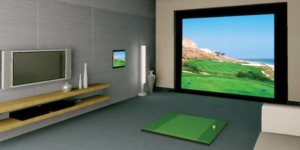Home Golf Simulators Game Rooms and Interactive Gaming Simulators